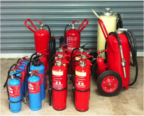 Fire Fighting Equipment Servicing